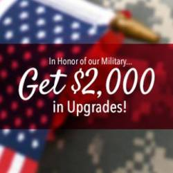 $2,000 Upgrade Veteran Incentive