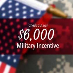 $6,000 Military Incentive